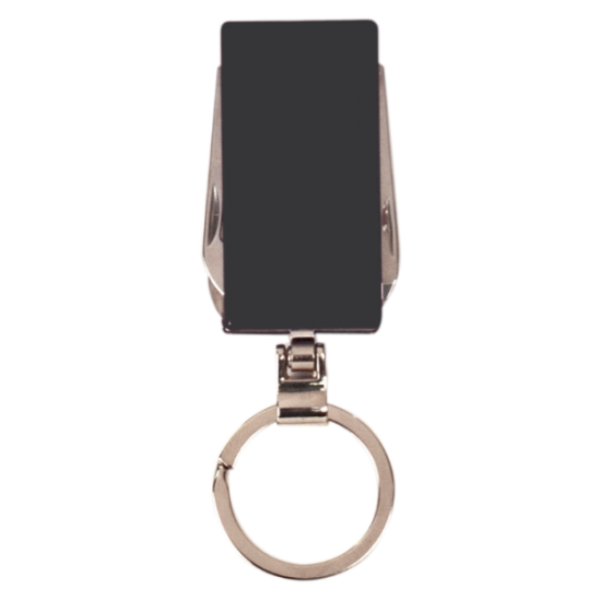 BLACK 6 FUNCTION KEY RING