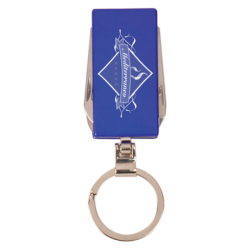 BLUE 6 FUNCTION KEY RING