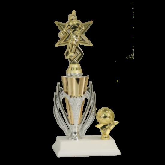 Sport Star Male Soccer Trophy