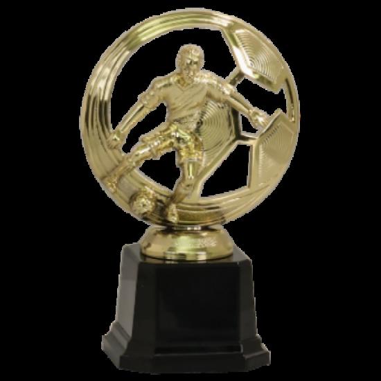 Cutout Male Soccer Trophy