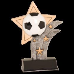 Sport Star Soccer Resin