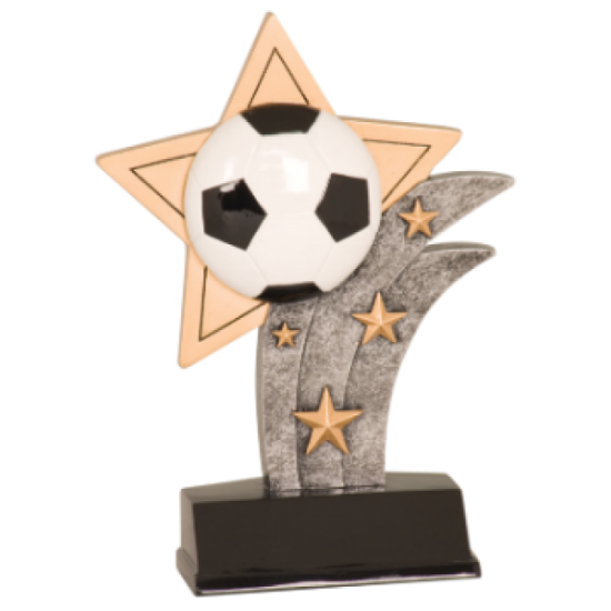 Sport Star Soccer Resin