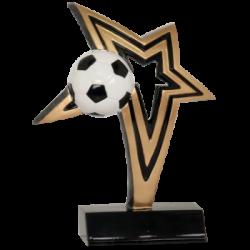 Infinity Star Soccer Resin