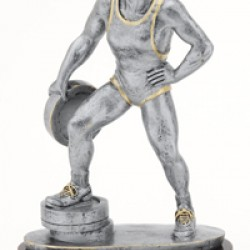 Resin Sculpture Bar In Hand Trophy