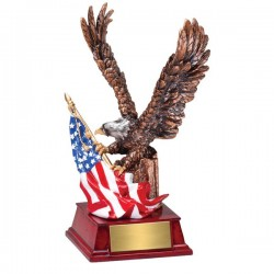 Eagle With Flag (AE302)