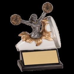 Xpolding Cheer Resin Award
