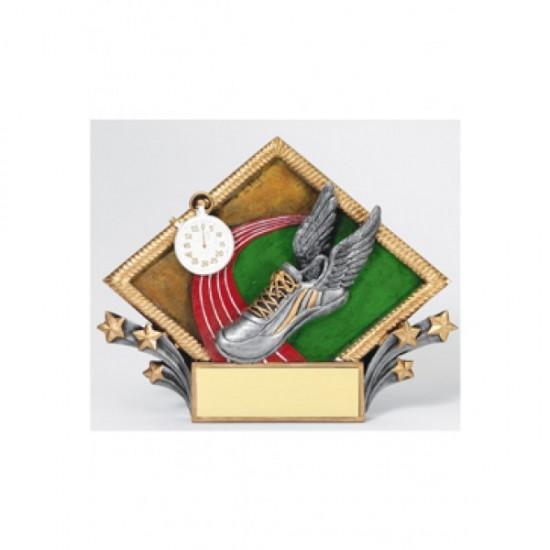 Resin Diamond Plates Track & Field Award (RDP22)