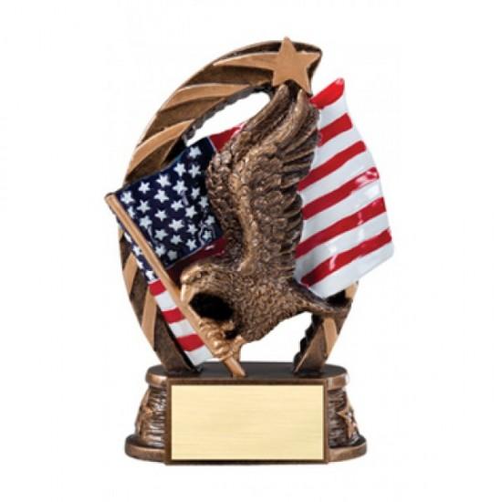 """Running Star 5.5"""" Resin Sculpture Eagle Trophy (RST600)"""