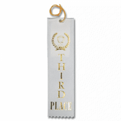 STRB21C - 3rd Place Stock Carded Ribbon