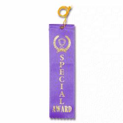 STRB21C - Special Award Stock Carded Ribbon