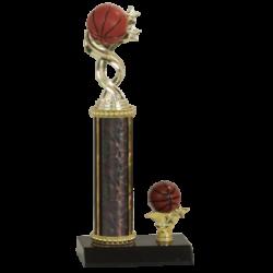 Twisted Basketball Sport Figure Trophy