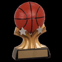 Shooting Star Basketball Resin