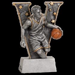 """""""v"""" Male Basketball Resin"""