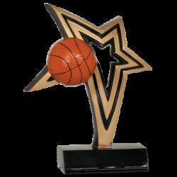 Infinity Star Basketball Resin Award