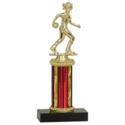 Female Bowling Trophy