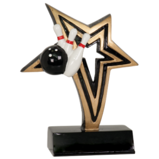Infinity Star Bowling Resin