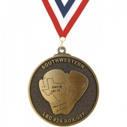 "Custom Die Cast Medals 3"" - 3.5"""