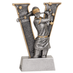 """v"" Series Female Golf Resin"