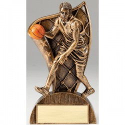 Flag Series Basketball Male Resin Trophy